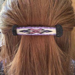 Horsehair hair clip